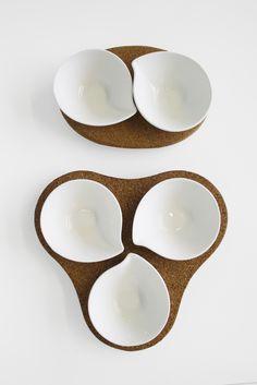 α Alfa β Beta Appetizer #appetizer #cork #tablepieces #design