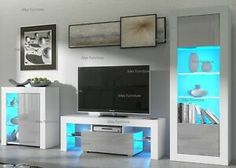 White Cabinets & Cupboards for sale | eBay Small Cabinet, Tall Cabinet Storage, Kitchen Door Hinges, Tv Stand Models, Bathroom Sink Vanity Units, White Tv Unit, Cupboards For Sale, Tv Wall Brackets, Kitchen Plinth