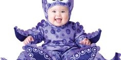 InCharacter Costumes Baby's Tiny Tentacles Octopus Costume, Purple, Small Cute Baby Halloween Costumes, Halloween Bebes, Toddler Costumes, Cute Costumes, Halloween Fancy Dress, Baby Costumes, Infant Halloween, Wicked Costumes, Halloween Clothes
