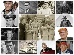 10 WWII Heroes: All In His Hands (Louie Zamperini) 2/10  -- Louie Zamperini collage!   Le Chaim (on the right)
