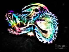 Deniece Platt - Fractal Dragon