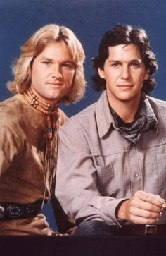 """""""The Quest"""" Kurt Russell & Tim Matheson- I loved this show back in the '70s. Too bad it was on opposite Charlie's Angels."""