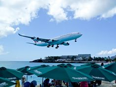 Maho Beach St. Maarten  Very Cool - seeing the picture is one thing, but experiencing it was truely awe inspiring.