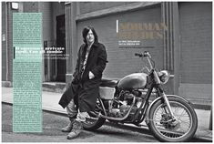 The Walking Dead Star Norman Reedus Poses for Black & White LUomo Vogue Fashion Shoot
