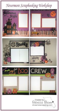 Show Me Scrapping Blog: The new Nevermore Scrapbooking Workshop is ready!! #ctmhNevermore