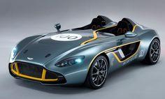 Aston Martin CC100 Speedster Concept - front three-quarter view