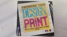 Preparing Your Design For Print- Ingles pasta dura preparando tu diseño para impresión autora: Lynn John Libro practico con ejemplos sencillos 143 paginas