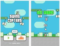 Swing Copters es el nuevo juego del creador de Flappy Bird. Con una dinámica similar y una dificultad endiablada, aderezado con altas dosis de adictividad.