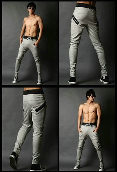 Korean Style Slim Fit Sports Sweatpants