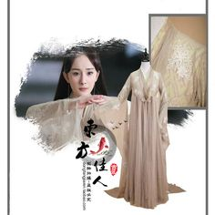>> Click to Buy << Bai Qian Fairy Women's Costume Forever Love for Three Times of Incarnations in Ten Miles of Peach Blossom Bushes #Affiliate