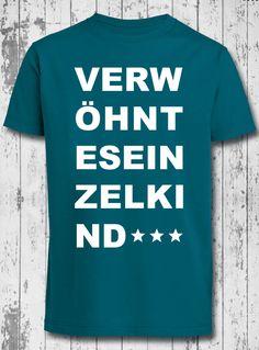 T-Shirt *Einzelkind* von KLEINE KERLE auf DaWanda.com