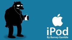 simpson Steve Jobs, Ipod, Apple, Feelings, Movie Posters, Movies, Tech, Art, Accessories