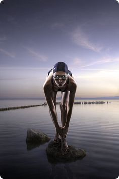 Love this swimmer photo.