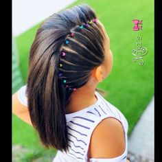 Best Wedding Hairstyles for Flower Girls - Braids - Makeup, Nails and Beauty- Best Wedding Hairstyles for Flower Girls – Braids Hair style for little girls - Lil Girl Hairstyles, Girls Hairdos, Kids Braided Hairstyles, Box Braids Hairstyles, Wedding Hairstyles, Hairstyle Ideas, Teenage Hairstyles, Girl Haircuts, Braided Hairstyles For Kids
