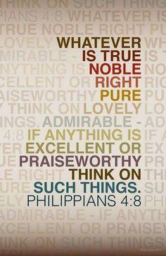 Philippians  4  :  8