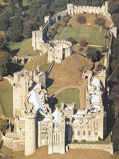 Arundel Castle in Arundel, West Sussex, England is a restored medieval castle. It was founded by Roger de Montgomery on Christmas Day 1067. Roger became the first to hold the Earldom of Arundel by the graces of William the Conqueror.