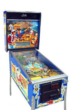 Pinball Machines - Gilligan's Island Pinball Machine - The Pinball Company