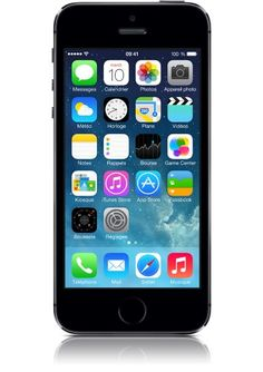 cool Apple IPHONE 5S SPACE GRAY 16GB-FRA