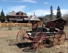 Rafters Six Ranch Resort west of Calgary, Alberta, Canada.