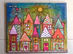 Made-By-Me....Julie Ryder, neighborhood.  Not a quilt but, some serious inspiration for one.