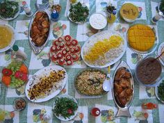 Iranian dinner