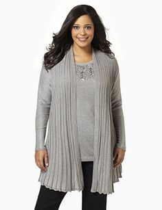 Glitter Glow Sweater from Catherines