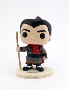 Mulan - Li Shang | Prone to obsess