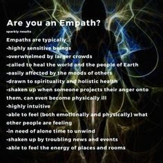 Healing from Abusive/Toxic Relationships — Are You an Empath Empath Traits, Intuitive Empath, Empath Types, Empath Abilities, Psychic Abilities, Yin Yang, Highly Sensitive Person, Sensitive People, E Mc2