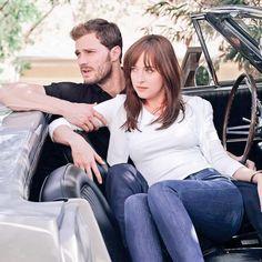 Jamie Dornan & Dakota Johnson- 50 Shades of Grey