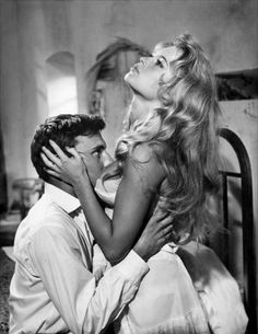 Brigitte Bardot in '...And God Created Woman' / 'Et Dieu...créa la femme', 1956. ☚