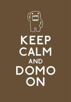 Domo 2010 anime 1 inch mini charms set of 8 different styles