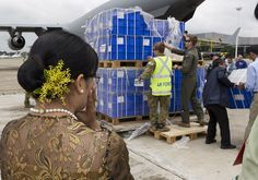 ADF delivered humanitarian aid to flood-stricken Burma