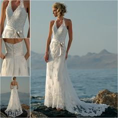 Beach Wedding Dresses, Beach Bridal Gowns