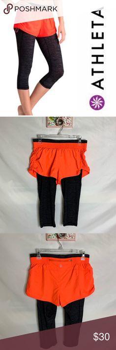 "Athleta NWT Women/'s Lightning Bike short 5/"" Size Small Color Black"