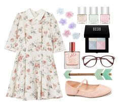 """""""Flower pastels"""" by barbara-lancianese ❤ liked on Polyvore featuring Old Navy, Monsoon, Zoella Beauty, Nails Inc. and Givenchy"""