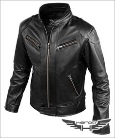 Chaqueta de Cuero Modelo Accro - Heron Chile Leather Fashion, Mens Fashion, Classic Leather Jacket, Slim Fit Jackets, Slim Man, Jacket Style, Motorcycle Jacket, Vintage Fashion, Vintage Style