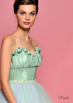 Lou Lou Bridesmaids - Mint dress