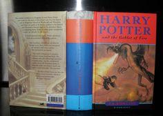 **Harry Potter and the Goblet Of Fire, J.K Rowling HB, , ed Print Errors British Books, Goblet Of Fire, Chamber Of Secrets, Prisoner Of Azkaban, Fantastic Beasts And Where, Harry Potter Books, First Novel, Hogwarts, Childrens Books