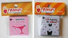 Bachelorette mini cards Set of 20 por Tianguisonline en Etsy