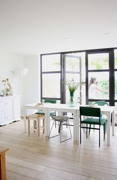 Mooie ramen en lichtinval