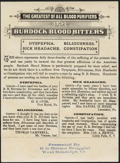 Burdock Blood Bitters at 3 years of age, and at 60. (back)   Flickr - Photo Sharing!