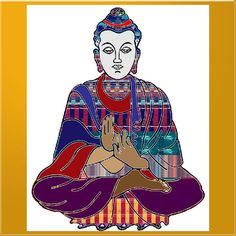 Buddha Spirit Humanity Buy Faa Print Products Or Down Load For Self Printing Navin Joshi Rights Mana