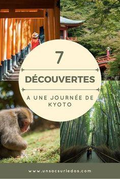 Kyoto, nous on l'adore ! Et autour de Kyoto, il y a aussi de nombreux endroits très intéressants à visiter. Voici nos 7 idées de lieux à découvrir autour de #Kyoto, en expédition à la journée. #Japon #Japan #Asie #voyage #blogvoyage #visite #tourisme #Ara