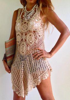 crochet dress from etsy.com