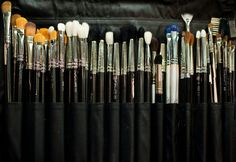 how to not only clean your brushes, but also sanitize them to remove bacteria and germs