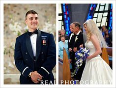 air force academy chapel wedding walking down the aisle usafa colorado springs photographer