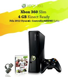 Xbox 360 Slim 4 GB Kinect Ready