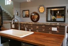 DIY Ikea butcher block countertops | have the oak one on my sink island - absolutely love it. Ive used ...Conference room color option