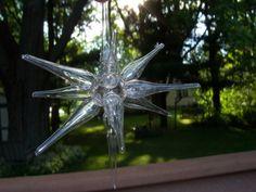 Roberto Niederer Round Glass Handblown Star by SylviasFinds, $10.00