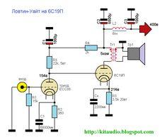 [Tube+6S19P+++ECC88+2,5-5watt.gif] Electronic Engineering, Electrical Engineering, Electronic Circuit, Valve Amplifier, Audio Amplifier, Diy Electronics, Electronics Projects, Bass Amps, Vacuum Tube
